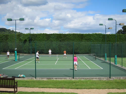 Steep Lawn Tennis Club Court