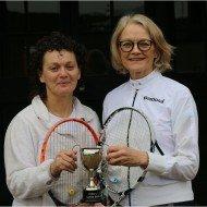 Ladies doubles Winners - Jeannie Crook and Ann Saunders