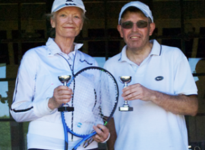 Mixed Double Runners Up - Ann & Duncan