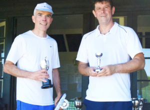 Singles Winner & Runner Up Matt F & Matt T